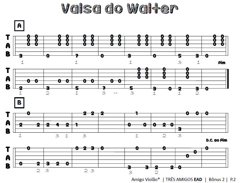 como-ler-tablatura-valsa-do-walter